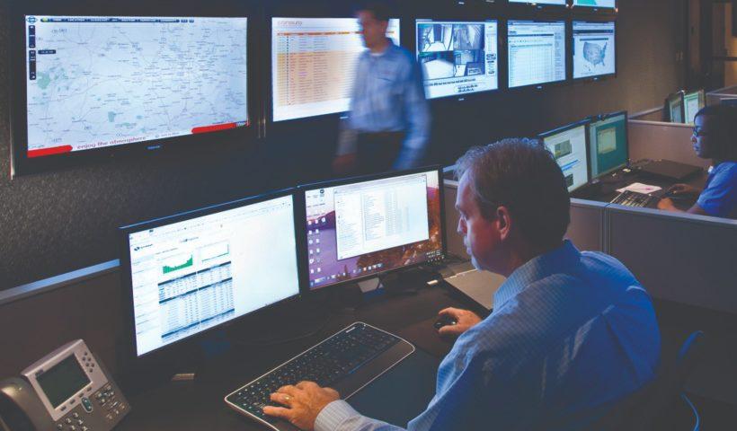 electronic monitoring station