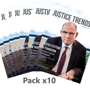 Pack x10 copies JUSTICE TRENDS magazine