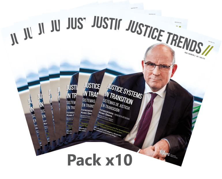 Pack x10 copies JUSTICE TRENDS magazine