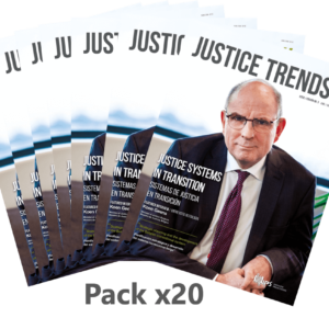 Pack x20 copies JUSTICE TRENDS magazine