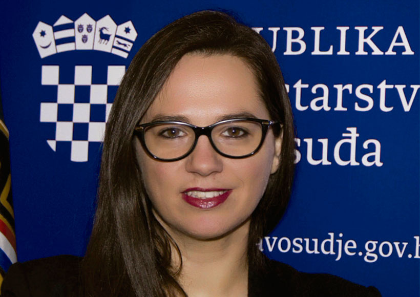 jana spero Assistant Minister Croatia