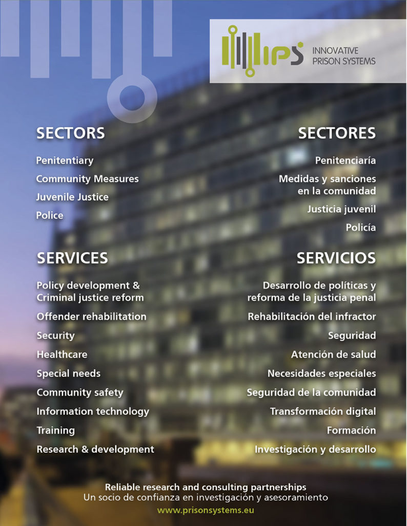 IPS Innovative Prison Systems Sectors Services