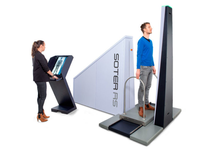 ODSecurity Soter RS Body Scanner
