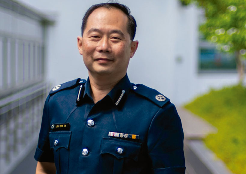 loh teck en CIO Singapore Prison Service