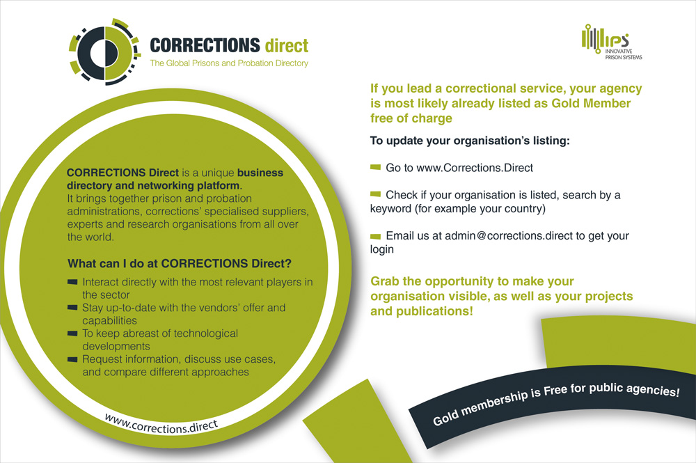 Corrections Direct partner JUSTICE TRENDS Magazine