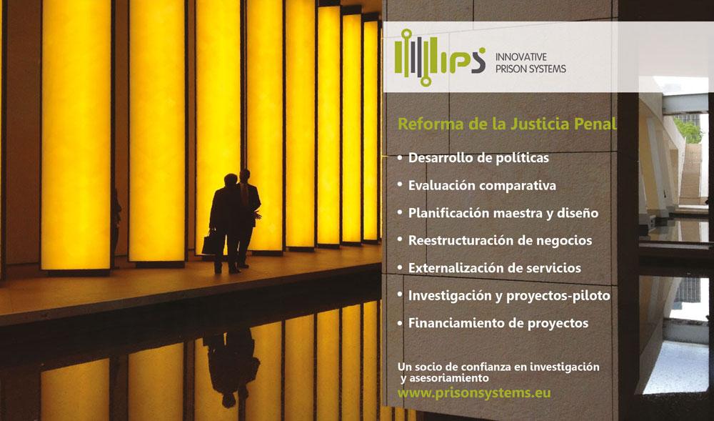 Reforma de la justicia penal servicio IPS Innovative Prison Systems