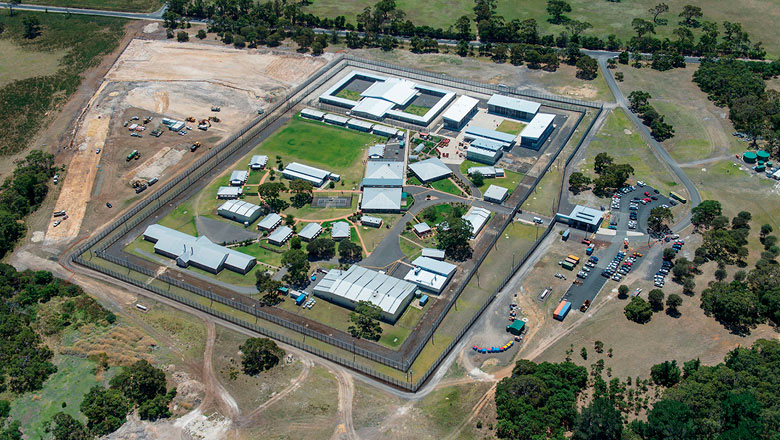 Mount Gambier Prison is privately managed and operated, accommodating male medium and low security prisoners