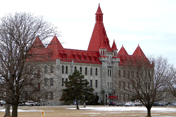 Exterior view of Collins Bay Institution, Kingston, Ontario, Canada