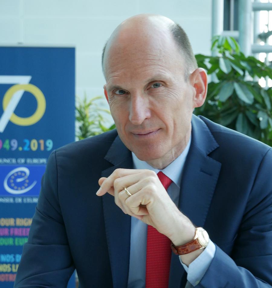 Jan Kleijssen at his desk